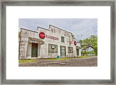 Rainbow Inn Framed Print by Scott Pellegrin
