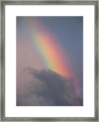 Rainbow Smaug Framed Print