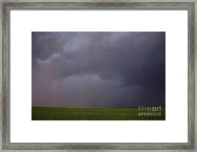 Rainstorm Framed Print