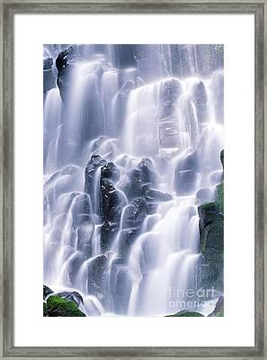 Ramona Falls Framed Print by Jim Corwin
