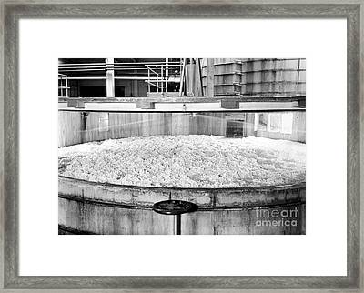 Rayon Production, 1950s Framed Print