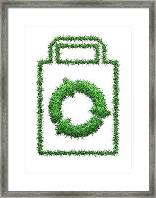 Recycling Framed Print by Victor Habbick Visions