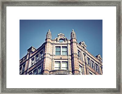 Red Brick Building Framed Print