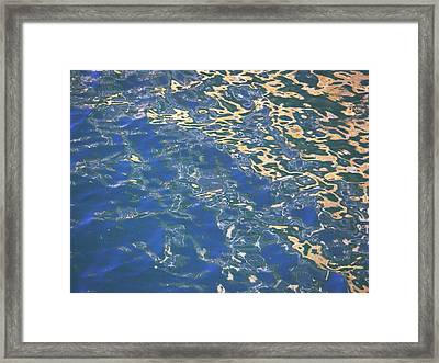 Framed Print featuring the photograph Reflection by Laurie Stewart