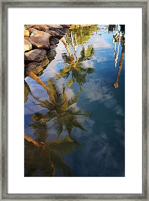 Reflections Framed Print by James Roemmling