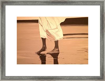Reflections Framed Print by Otis L Stanley