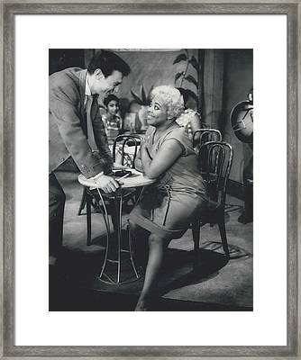 Rehearsing New Negro Musical Comedy Framed Print by Retro Images Archive