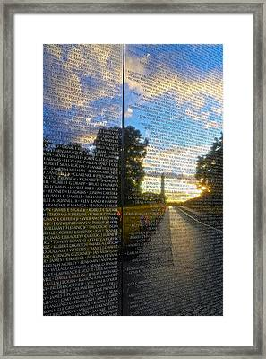 Remember Framed Print by Mitch Cat