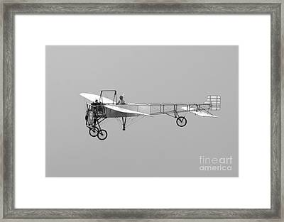 Replica Of The Wright Flyer Framed Print by Timm Ziegenthaler