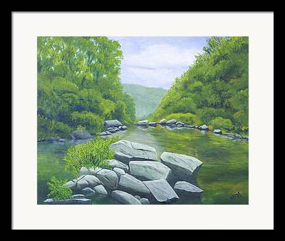 Richland Creek Wilderness Framed Prints