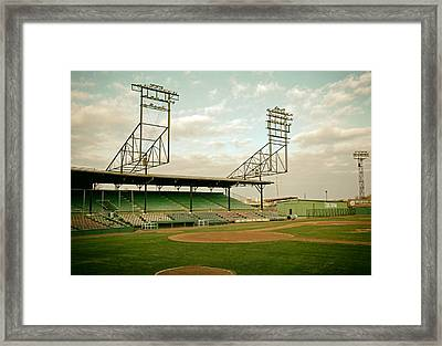 Rickwood Field Birmingham Alabama Framed Print by Mountain Dreams