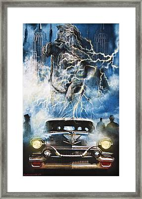 Riders On The Storm Framed Print by Larry Butterworth