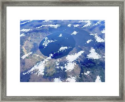 Ries Crater Framed Print