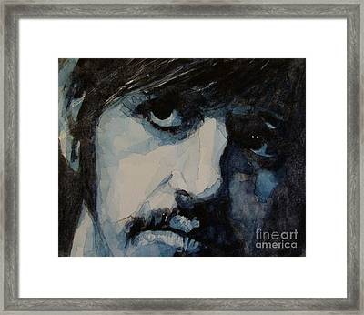 Ringo Framed Print by Paul Lovering