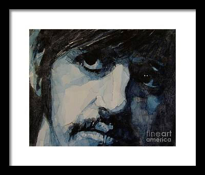 Ringo Starr Framed Prints