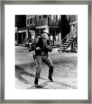 Rio Bravo, John Wayne, 1959 Framed Print
