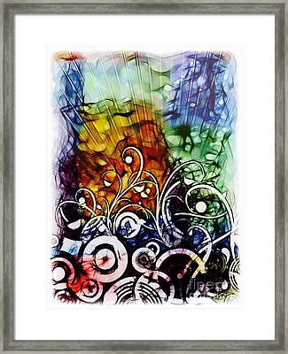 Rite Of Spring Framed Print by Lutz Baar