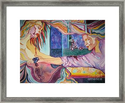 Rituals Framed Print by Diana Bursztein