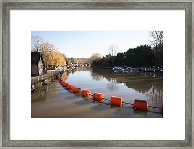 River Medway Framed Print by Dawn OConnor
