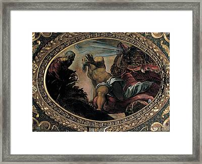 Robusti Jacopo Known As Tintoretto Framed Print