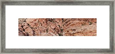 Rock Formations, Red Rock Canyon Framed Print by Panoramic Images