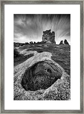 Framed Print featuring the photograph Rock by Okan YILMAZ