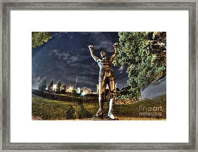 Rocky Balboa Framed Print by Mark Ayzenberg