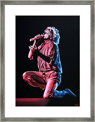 Rod Stewart Framed Print by Paul Meijering