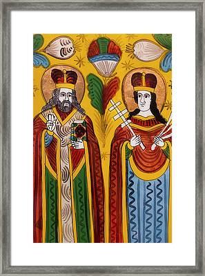 Romania, Transylvania, Sibiel, Zosim Framed Print