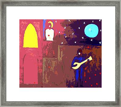 Romeo And Juliet Framed Print by Patrick J Murphy