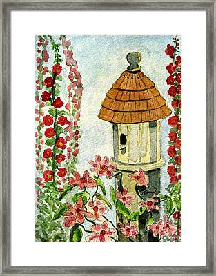 Room With A View Framed Print by Angela Davies
