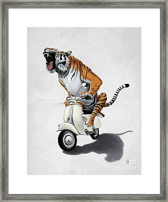 Rooooaaar Wordless Framed Print
