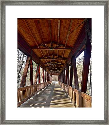 Roswell Bridge Framed Print
