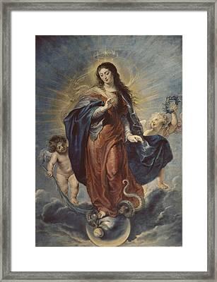 Rubens, Peter Paul 1577-1640 Framed Print by Everett