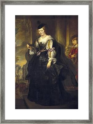 Rubens, Peter Paul 1577-1640. Helena Framed Print by Everett