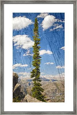 Rugged Wind River Range - Where Solitude Rules Framed Print