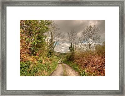 Rural Irish Road Framed Print