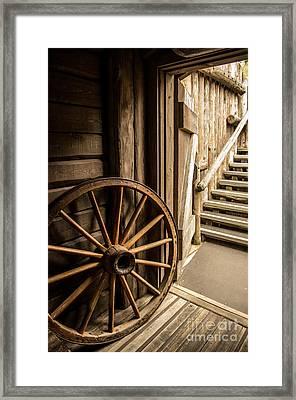 Rural Wertern Framed Print by Carlos Caetano