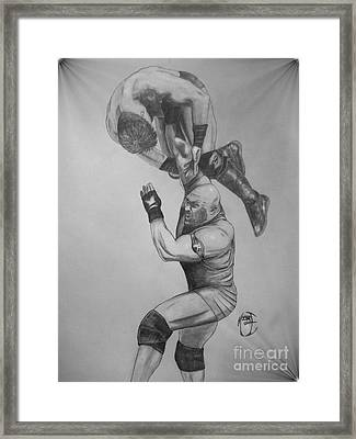 Ryback Framed Print by Justin Moore