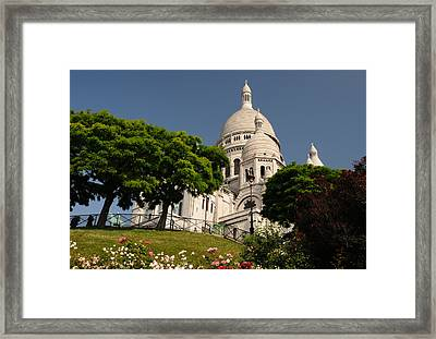 Sacre Coeur Framed Print by Jeremy Voisey