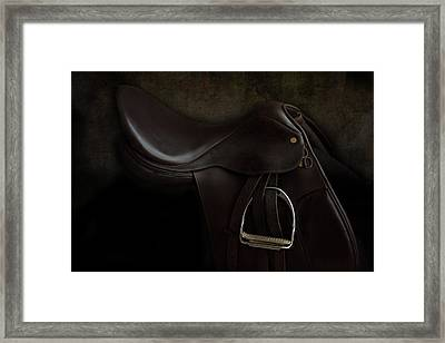 Saddle 2 Framed Print