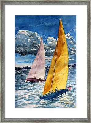 Sailors Delight  Framed Print by Enola McClincey
