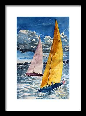 Enola Mcclincey Framed Prints