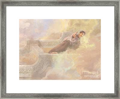 Saint Andrew Dung-lac Framed Print by John Alan  Warford