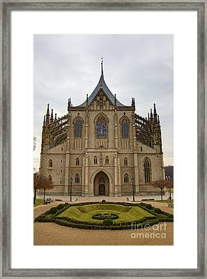 Saint Barbara Church  Framed Print