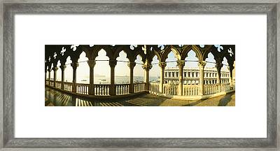 Saint Mark Square, Venice, Italy Framed Print