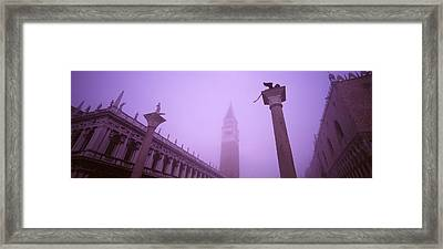 Saint Marks Square, Venice, Italy Framed Print