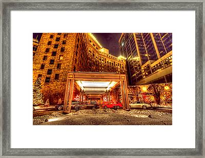 Saint Paul Hotel Framed Print by Amanda Stadther