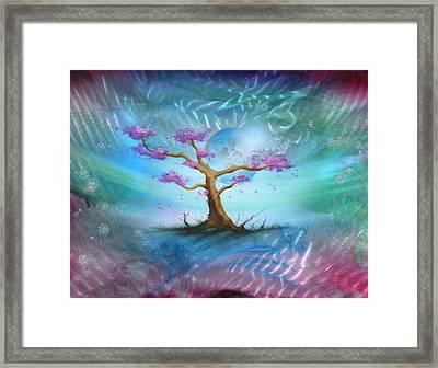 Sakura Framed Print by Luis  Navarro