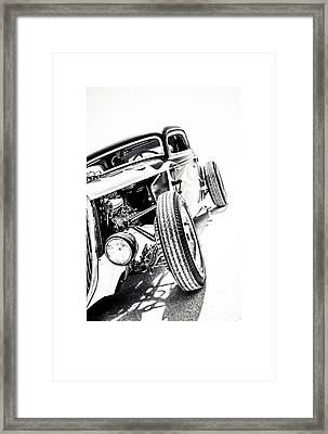 Salt Metal Framed Print by Holly Martin